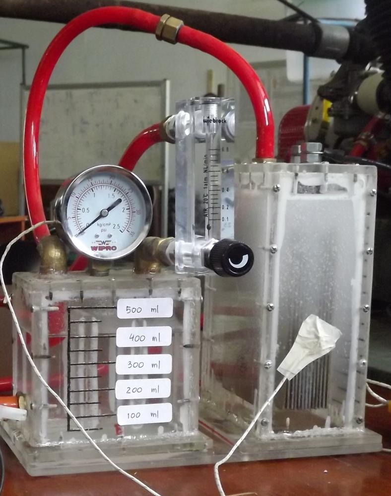 Perancangan HHO Generator untuk Motor Bensin dengan Bahan Bakar Utama Pertamax (5/6)